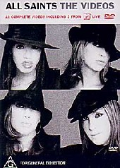 All Saints - The Videos on DVD