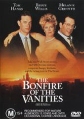 Bonfire Of The Vanities on DVD