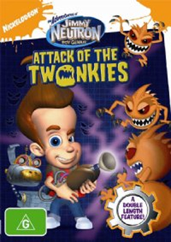 The Adventures of Jimmy Neutron - Boy Genius: Attack Of The Twonkies on DVD image