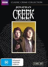 Jonathan Creek - Season 1 on DVD