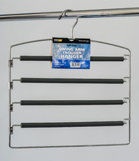 L.T. Williams - Rubberized Swing Arm Trouser Hanger