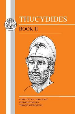 History of the Peloponnesian War: Bk. 2 by . Thucydides