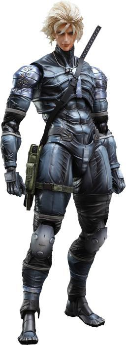 Metal Gear Solid: Raiden - Play Arts Action Figure
