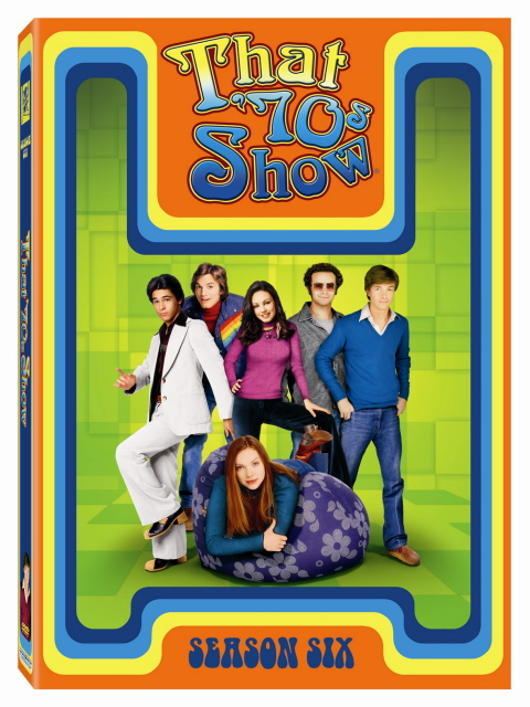 That '70s Show - Season 6 (4 Disc Set) on DVD image