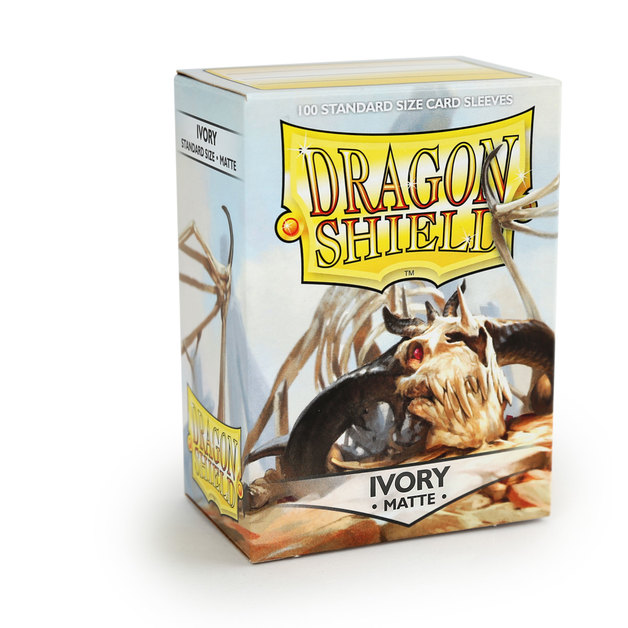 Dragon Shield Matte Ivory Sleeves