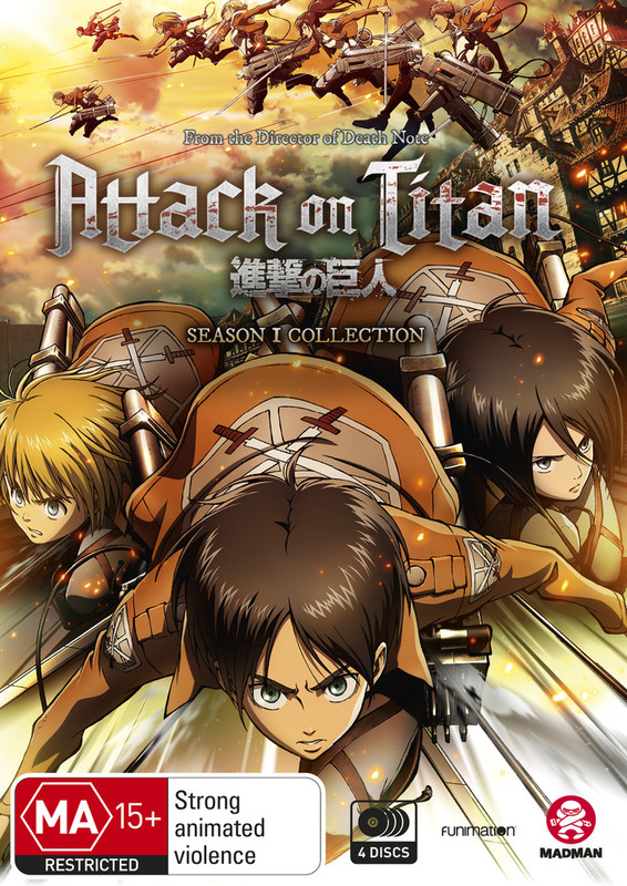 Attack On Titan - Season 1 Collection on Blu-ray
