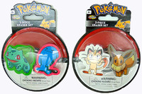 Pokemon: Erasers - 2 Piece Set (Assorted Designs)
