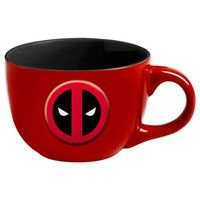 Marvel Soup Mug - Deadpool Logo