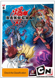 Bakugan: Time for Battle (Vol 6) on DVD