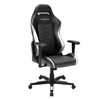 DXRacer Drifting Series DF73 Gaming Chair (Black and White) for