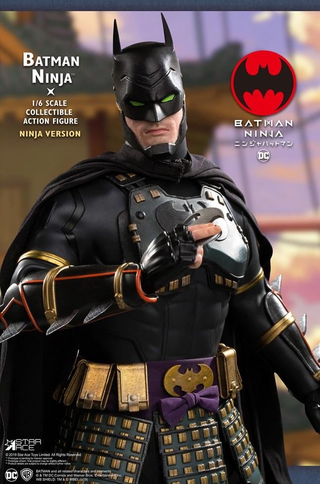 Batman: Ninja (Deluxe War Ver.) - 1:6 Scale Articulated Figure image