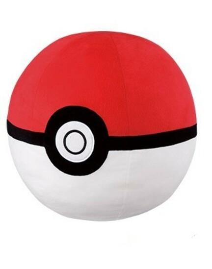 Pokemon: Super (Mecha) Big Poke Ball - Plush image