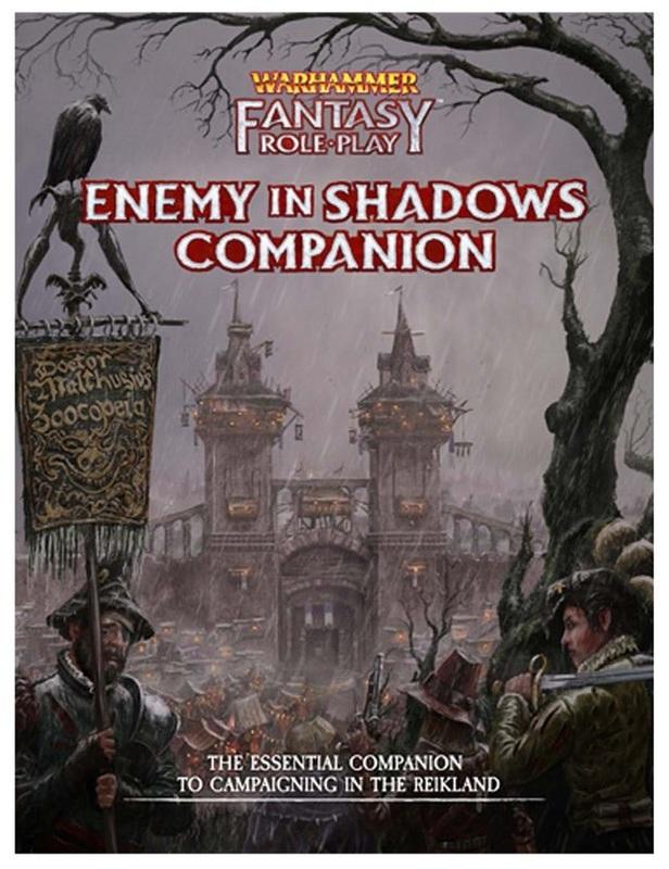 Warhammer: Fantasy RPG Enemy Within - Vol. 1: Enemy in Shadows Companion