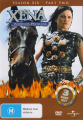 Xena - Warrior Princess: Season 6 - Part 2 (3 Disc Set) on DVD