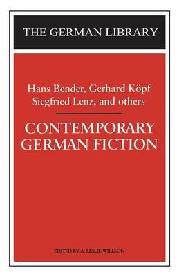 Contemporary German Fiction