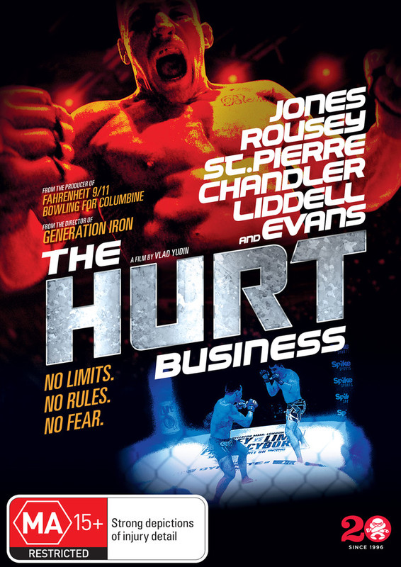 The Hurt Business on DVD