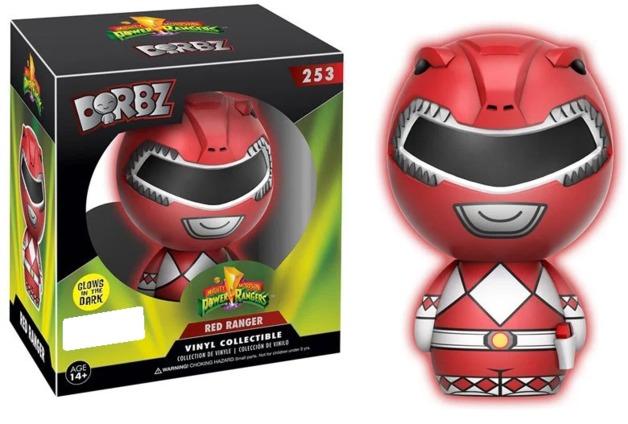 Power Rangers - Red Ranger (Glow) Dorbz Vinyl Figure