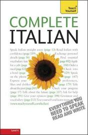 Complete Italian (Learn Italian with Teach Yourself) by Lydia Vellaccio image