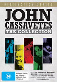John Cassavetes - The Collection (Distinction Series) (7 Disc Box Set) on DVD