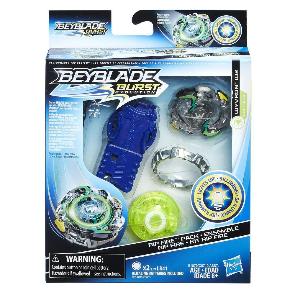 Beyblade Burst Wyvron W2 Rip Fire Pack Toy At