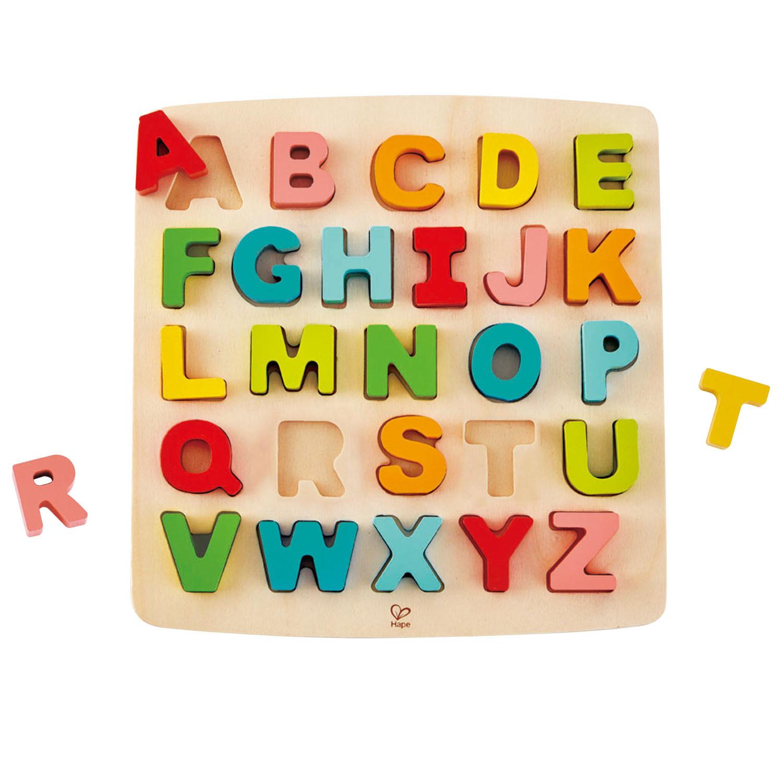 Hape: Chunky Alphabet Puzzle image