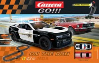 Carrera: Go!!! - On the Run Slot Car Set (Camaro/Mustang)