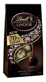 Lindt: Lindor 70% Cocoa Bag (123g) image