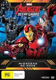 Avengers Secret Wars: Avengers No More on