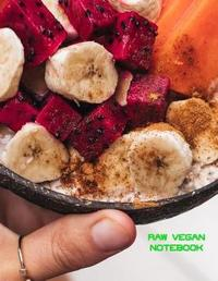 Raw Vegan Notebook by Charlotte Heather