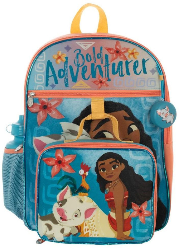 Moana: Backpack Set (5 Piece)