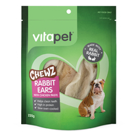 VitaPet: Chewz Rabbit Ears with Chicken 220g