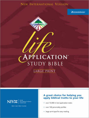 NIV Life Application Study Bible image