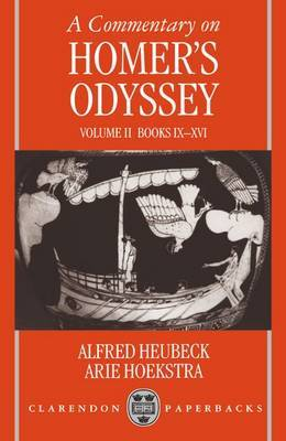 A Commentary on Homer's Odyssey: Volume II: Books IX-XVI image