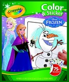 Colour N Sticker Book Frozen - Crayola