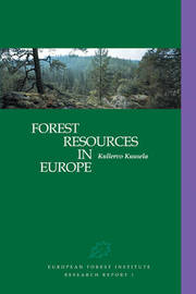 Forest Resources in Europe 1950-1990 by Kullervo Kuusela image