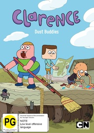 Clarence Dust Buddies on DVD
