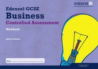 Edexcel GCSE Business Studies: Controlled Assessment Workbook by Andrew Ashwin image