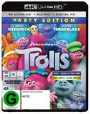Trolls on Blu-ray, UHD Blu-ray