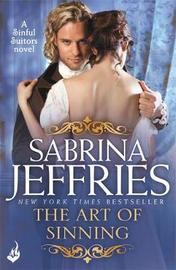 The Art of Sinning: Sinful Suitors 1 by Sabrina Jeffries image