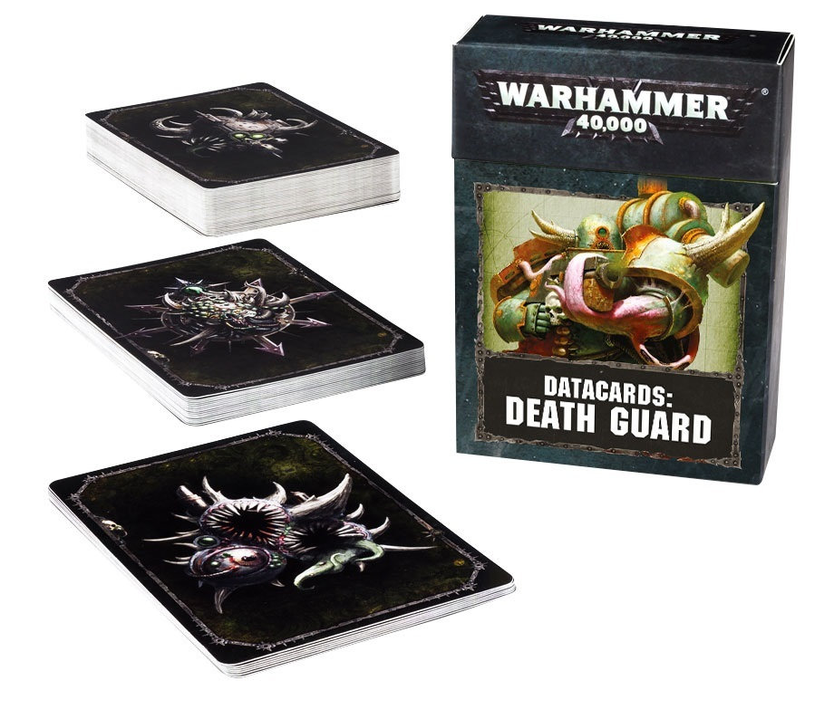 Warhammer 40,000: Datacards - Death Guard image