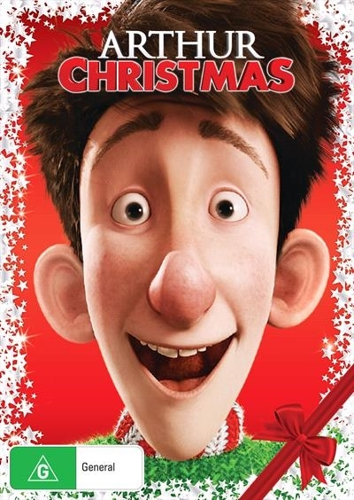 arthur christmas on dvd image - Arthur Christmas Dvd
