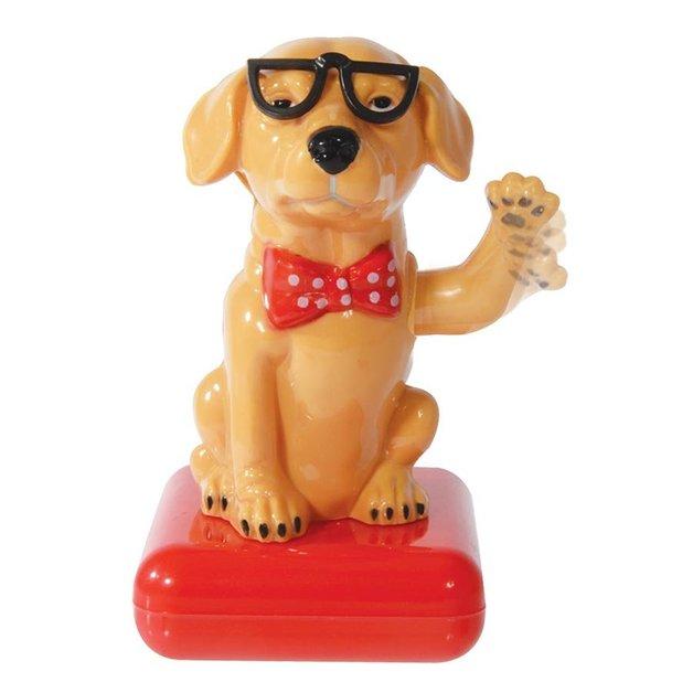 Solar Waving Dog