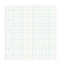 Filofax: A5 Notebook Refill - Grid (32 Sheets)