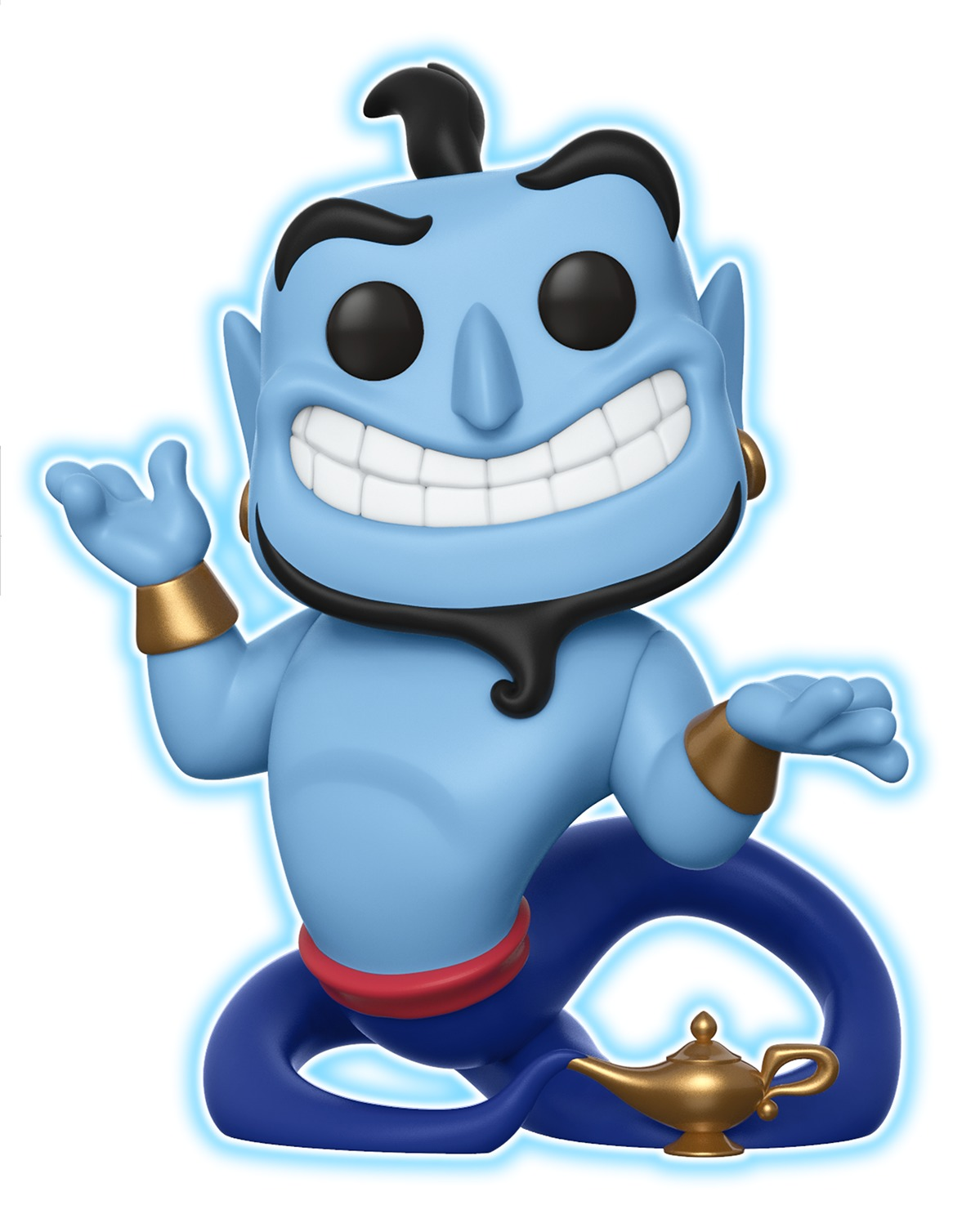 Aladdin - Genie with Lamp (Glow) Pop! Vinyl Figure image