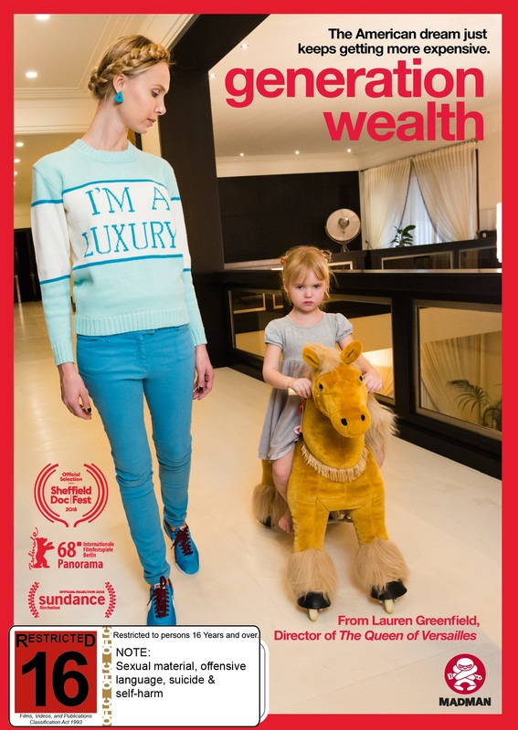 Generation Wealth on DVD