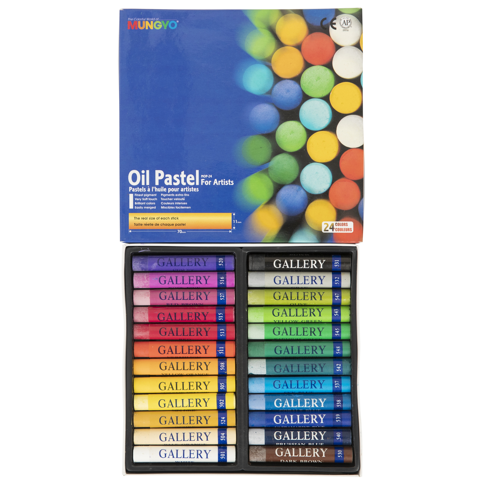Mungyo: Gallery Oil Pastels (24 Pack) image