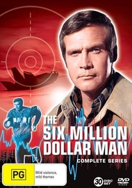 Six Million Dollar Man Complete Collection on DVD
