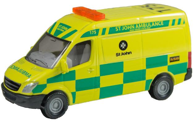 Siku: St Johns Ambulance - Diecast Vehicle