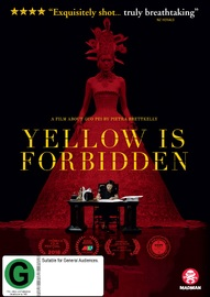 Yellow Is Forbidden on DVD image