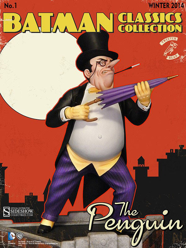 Batman Classic Penguin Maquette Diorama image